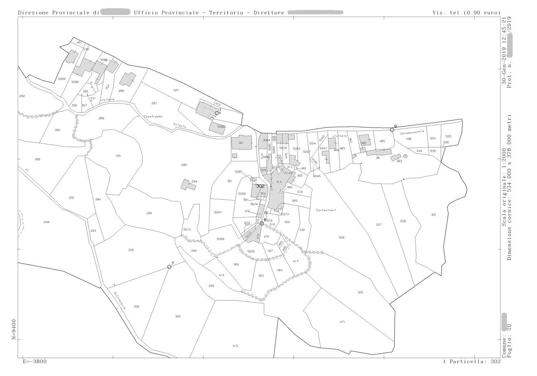 Mappa Catastale